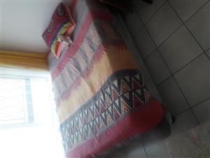 Double Bed And Base Set