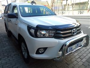 2018 Toyota Hilux single cab HILUX 2.4 GD 6 RB SRX A/T P/U S/C