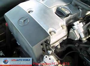 IMPORTED COMPLETE USED  00- MERCEDES C-CLASS E-CLASS COMPRESSOR M271 ENGINES