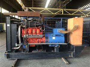 550 KVA Scania Generator For Sale