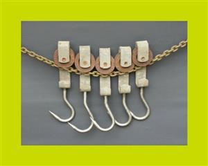 Stainless Steel Hooks - Priced Individually - SKU 566