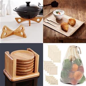 Bamboo and other kitchen goods