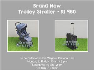 Brand New Trolley Stroller - Blue
