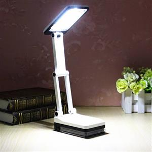 RECHARGEABLE FOLDING LAMP WITH POWER BANK PHONE CHARGER