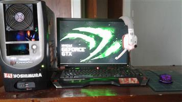 Fully loaded gaming desktop
