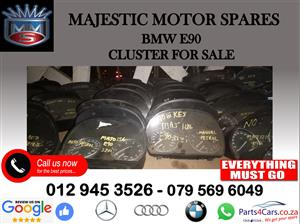 Bmw E90 cluster for sale