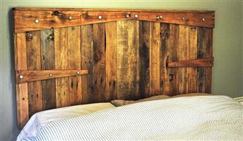 wooden headboards