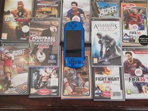 PSP BLUE -12XGAMES