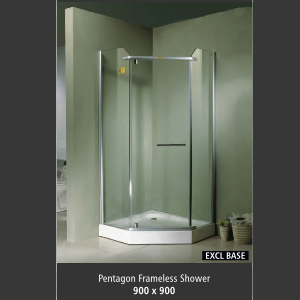 Shower : Frameless
