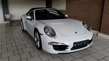 2013 Porsche 911 Carrera 4 cabriolet auto