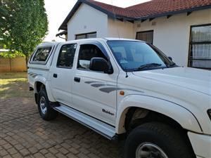 2003 Toyota Hilux 2.7 double cab Raider