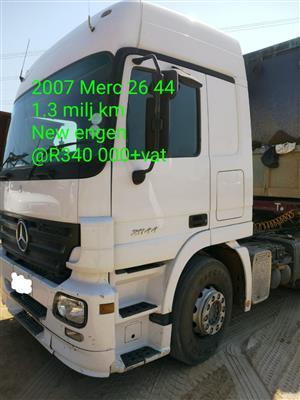 2007 Mercedes Benz 26 44