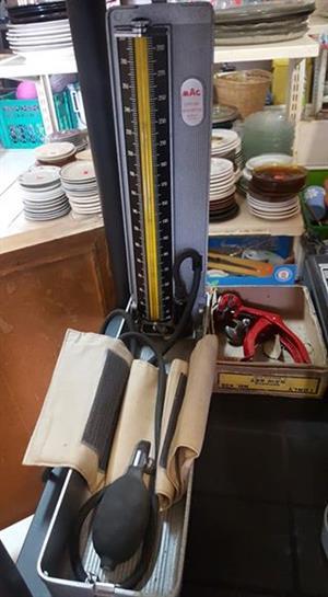 Vintage blood pressure machine