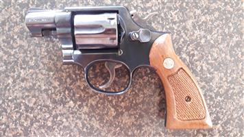Smith & Wesson .38 Snub Revolver.