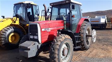 Massey Ferguson 8130 Dynashift Tractor,115kw
