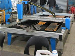 P-1325VMF MetalWise Standard CNC Plasma Cutting Table 1300x2500mm, Servo Motors