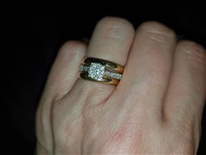 Wedding rings set for sale