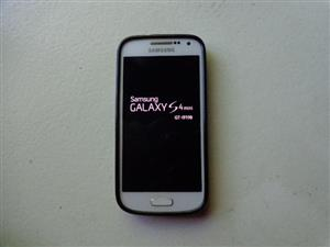 Samsung S4 Mini GT i 9190 - Perfect Condition with Black Plastic Pouch - (no charger and cable)