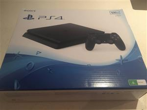 Sony PS4 slim 500gb brand new bundle with one game the elder scrolls
