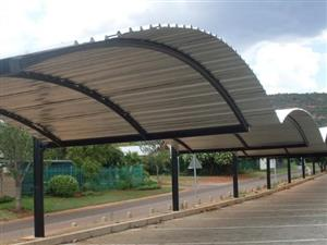 Shed pots & carports installers -for industrial carports ,home sheds quality structures which can prevent your cars contact us for prices