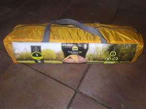 3 man dome tent user once brand new