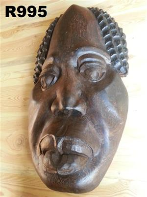 Big  Wooden Face Art (450x750)