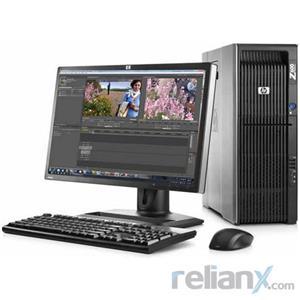 """HP Z600 Workstation - Intel Xeon 2.66Ghz / 8GB Memory / 1TB HDD / 1GB GPU / 22"""" LCD / Tower"""