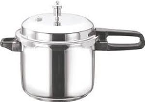 Vinod Stainless Steel Sandwich Bottom Pressure Cooker, 5-Litre