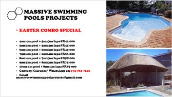 MASSIVE SWIMMING POOLS PROJECTS