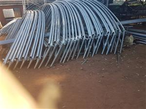 4 Mild Steel Greenhouse tunnel structures for sale