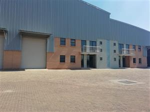 Industrial warehouse space to let