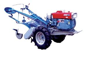 Two Wheel Diesel Tractor with Rotavator