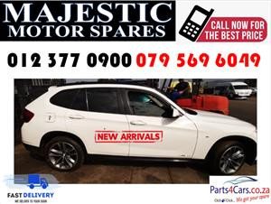 Bmw X1 2014 model stripping for spares