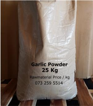 Food Grade Garlic Powder Raw Material