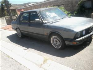 1986 BMW 5 Series 520i