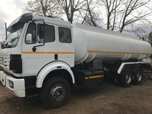 Mercedes Benz 2545 22000L Diesel Tanker
