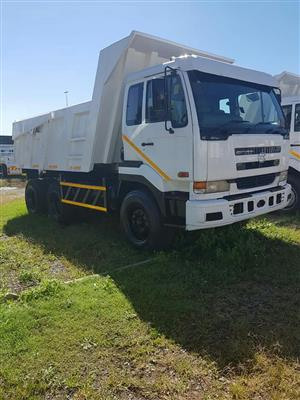 2006 Nissan UD290, 10Cube tipper