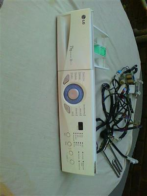 LG WD-80134T Front load Washing machine Control panel.