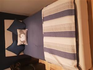 3/4 Bed & Mattress