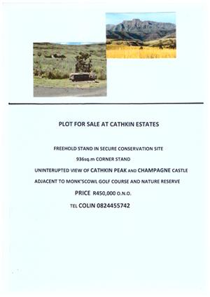 SECURE PLOT FOR SALE IN BERG
