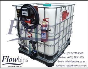 NEW 600Lt – 2500Lt Diesel /Paraffin Bowsers 12V-220V - Bakkie Skids from R4 650