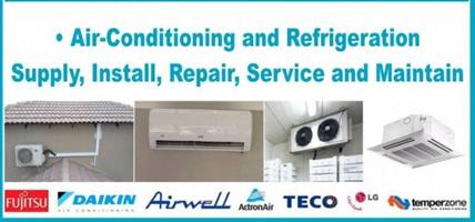 Office and Home Air-conditioner Installation, Regas, Relocation, Repairs, Maintenance