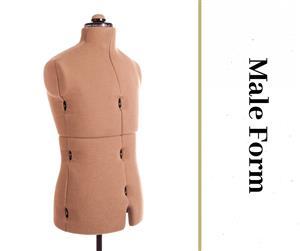 Male Form - Adjustable Dressmaker Doll / Mannequin / Sewing Doll