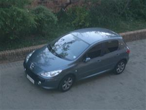 Fire damaged 2006 Peugeot 307 2.0 XS for sale