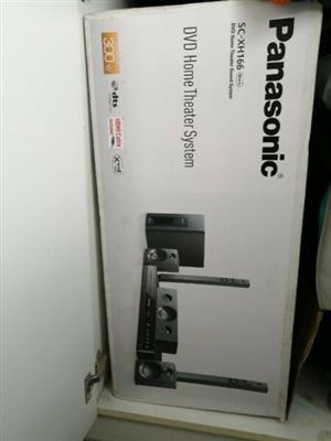 Panasonic SC-XH166 DVD Home Theatre System Surround Sound,