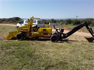 Backhoe & Front loader
