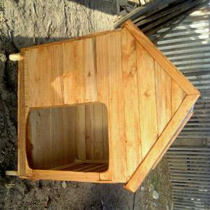 Quality wooden dog kennels