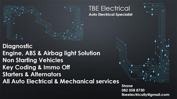 TBE Electrical Auto Electrical Specialist in Gauteng