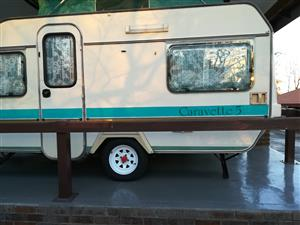 1990 Gypsey caravette 5 caravan in good condition for sale