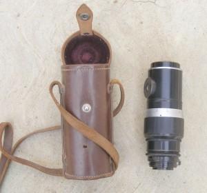 Vintage Leitz Hektor f/4.5 13.5cm Lens Serial No. 442164